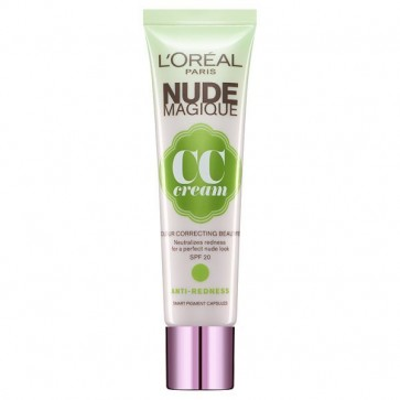 L'Oreal Nude Magique CC Cream Anti-Redness