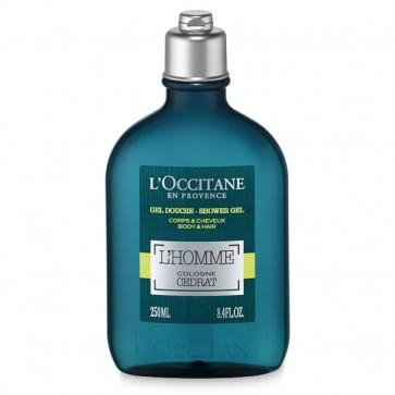 L'Occitane Cedrat L'Homme Cologne Shower Gel 250ml