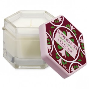 L'Occitane Rose Scented Candle