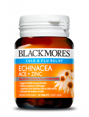 Blackmores Echinacea ACE+ Zinc 30 tablets