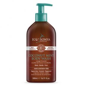 Eco Tan Coconut & Mint Body Wash 500ml