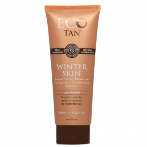 Eco Tan Winter Skin Gradual Tanning Moisturiser Light/Medium 200g