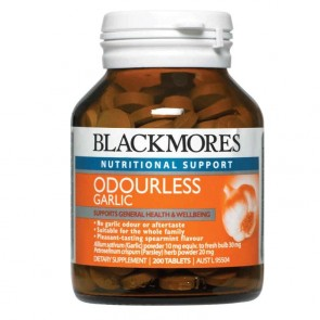 Blackmores Odourless Garlic 200 Tablets