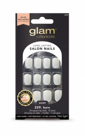 Manicare Glam Salon Nails 229 Bare