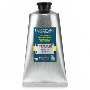 L'Occitane Cedrat L'Homme Cologne After-Shave Gel Cream 75ml