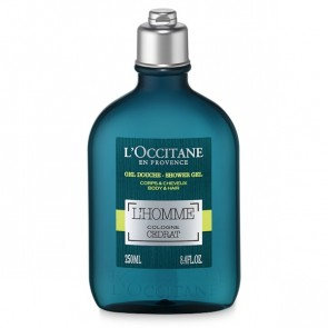 L'Occitane Cedrat L'Homme Cologne Shower Gel 250ml