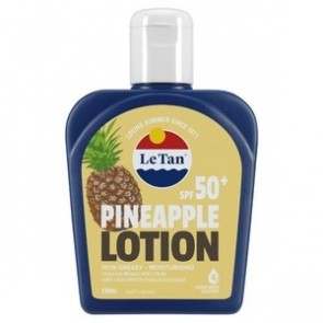 Le Tan Pineapple SPF 50+ Sunscreen 125ml