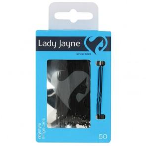 Lady Jayne 2821B Fringe Pin Black 50'S