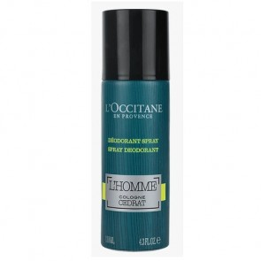 L'Occitane Cedrat L'Homme Cologne Spray Deodorant 130ml