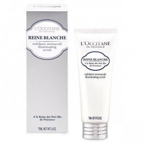 L'Occitane Reine Blanche Illuminating Scrub 75 ml