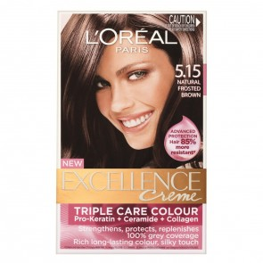 L'Oreal Excell 5.15 Natural Frosted Brown