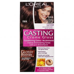 L'Oreal Cast Creme 515 Chocolate Chestnut