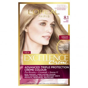 L'Oreal Excell 8.1 Ash Blonde
