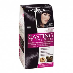 L'Oreal Cast 200 Ebony Black