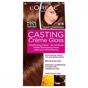 L'Oreal Cast 415 Iced Chocolate