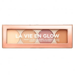 L'Oreal La Vie en Glow Highlighting Powder Palette