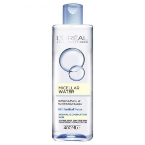 L'Oreal Micellar Water for Normal to Combination 400ml