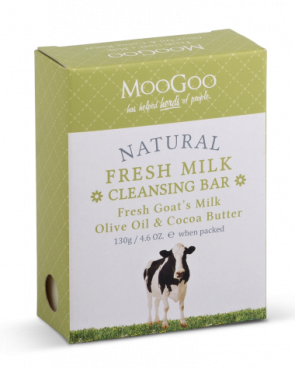 Moogoo Fresh Goats Milk Cleansing Bar 130g