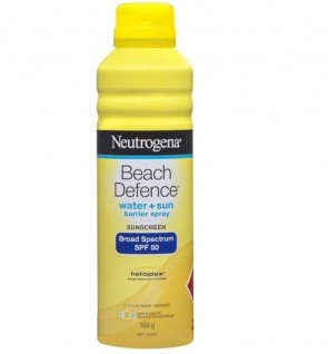 Neutrogena Beach Defence Water + Sun SPF 50+ Sunscreen Spray 184g