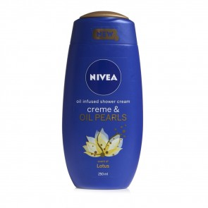Nivea Creme & Oil Pearls Shower Cream Lotus 250ml