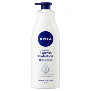 Nivea Express Hydration Body Lotion 48 hour Normal to Dry Skin 400ml