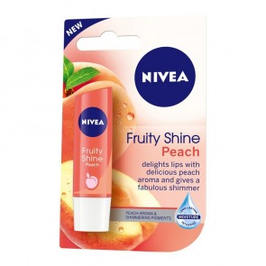 Nivea Fruity Shine Peach Lip Balm 4.8 g