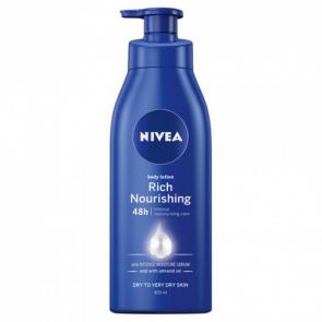 Nivea Rich Nourishing Body Lotion 48 hour Dry to Very Dry Skin 400ml