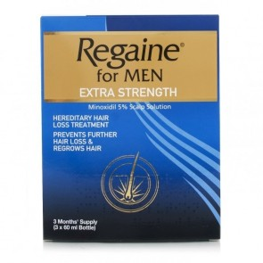 Regaine 5% Top Lot Men 60ml x 3 Month