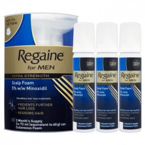Men's Regaine Extra-Strength Foam 3 Months pack