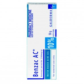 Benzac Ac Medicated Gel 10% 50g