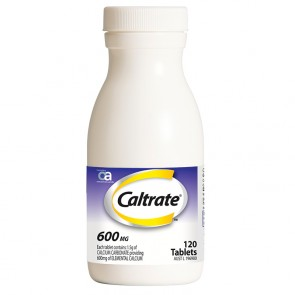 Caltrate 600mg Tablets 120 Tablets