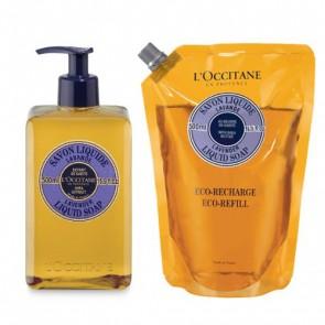 L'Occitane Shea Liquid Soap Lavender Eco Duo 500ml