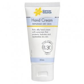 Cancer Council SPF 30+ Hand Cream 50ml