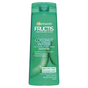 Garnier Coconut Water Oily Roots Dry Ends Shampoo
