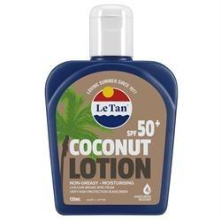 Le Tan Coconut SPF 50+ Sunscreen Lotion 125ml