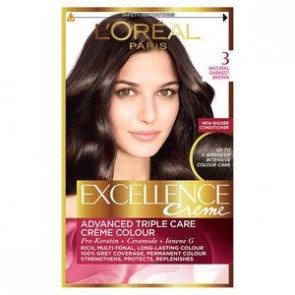 L'Oreal Excell 3 Darkest Brown