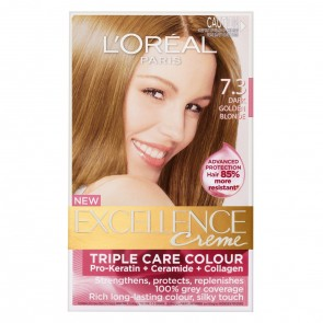 L'Oreal Excell 7.3 Dark Gold Blonde
