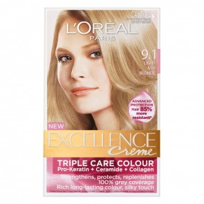 L'Oreal Excell 9.1 Light Ash Blonde