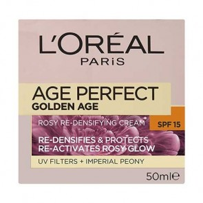 L'Oreal Age Perfect Golden Age Rosy Re-Densifying Cream SPF 15+ 50ml