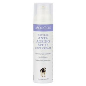 Moogoo Natural Anti-Ageing SPF 15+ Face Cream