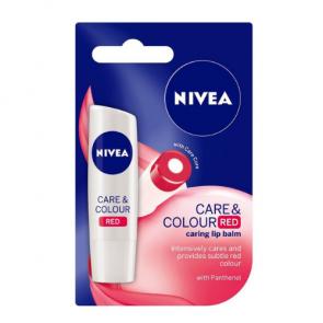 Nivea Care & Colour Red Lip Balm