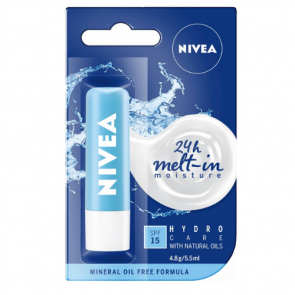 Nivea Hydro Care SPF15+ Lip Balm