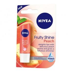 Nivea Fruity Shine Peach Lip Balm 4.8 g