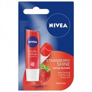 Nivea Fruity Shine Strawberry Lip Balm 4.8 g