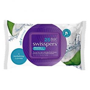 Swisspers Micellar & Coconut Water Wipes