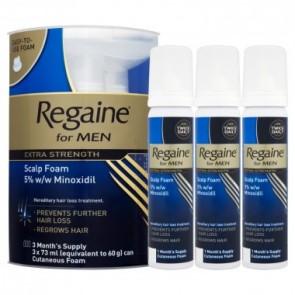 Men's Regaine Extra-Strength Foam 3 Months pack