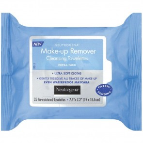 Neutrogena Makeup Remover Cleansing Towelettes 25 pack