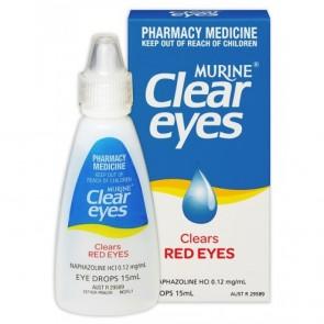 Murine Eye Drops Clear Eyes 15ml
