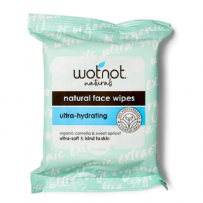 Wot Not Natural Face Wipes Ultra-Hydrating
